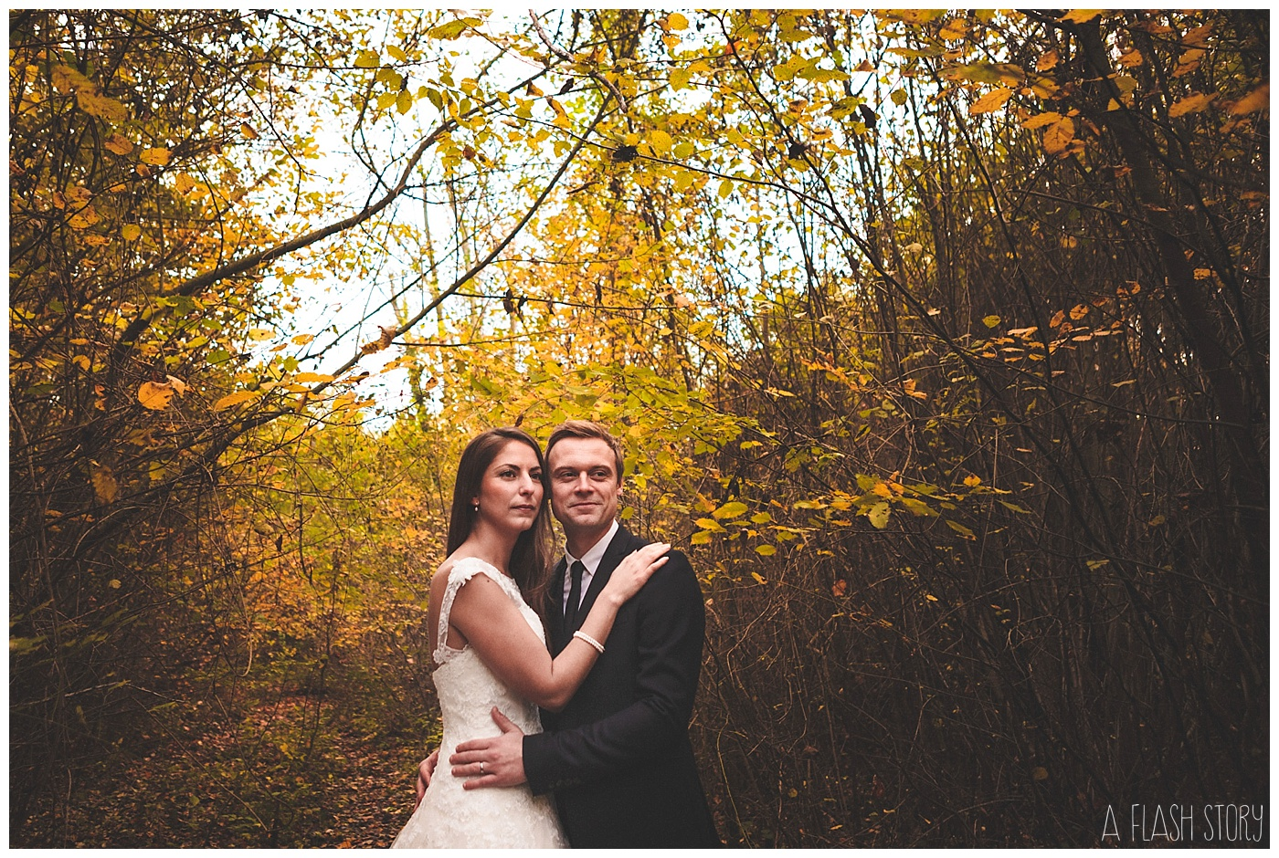 trash the dress à l'automne